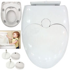 Friendly Soft Close Toilet Seat Child Family Quick Release Top or Bottom Hinges
