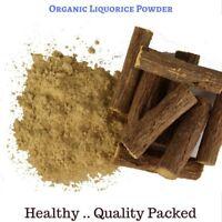100 Gram Premium Organic Liquorice Powder - Glycyrrhiza glabra - Free Postage