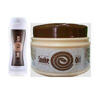 TianDe Snake Factor Shampoo and Snake oil strenghtening mask