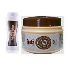 TianDe Serpente fattore SHAMPOO e olio di serpente MASCHERA STRENGHTENING