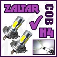 H4 Cob Cree Led Smd Super White Non Halogen Headlight Bulbs Head Lamps Uk Seller