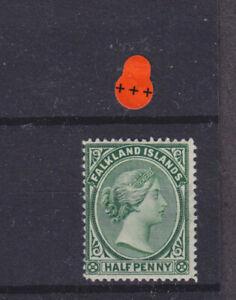 Falkland Islands QV SG 16b Cat £40.00 Mounted Mint