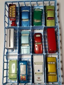 MATCHBOX Moko Lesney Grey Regular wheel 12 lot Collection Rares Mint Cars