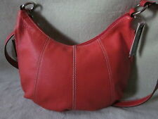 NEW Tignanello No Contest Papaya Leather Cross Body/Shoulder  Bag Very NICE!!