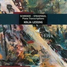 PIANO TRANSCRIPTIONS (LESSING) (NEW CD)