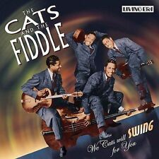 We Cats Will Swing for You by The Cats & the Fiddle (CD, Sep-2003, ASV/Living Er