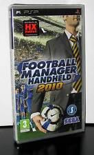 FOOTBALL MANAGER HANDHELD 2010 GIOCO NUOVO SONY PSP EDIZIONE ITALIANA PAL PG460