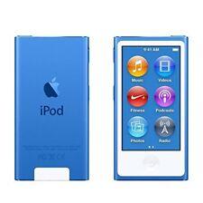 NEW Apple iPod nano 7th Generation Blue (16 GB) + BUNDLES + WARRANTY