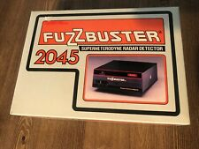 New listing New-Vintage Electrolert Fuzz Buster Radar Detector #2045 Boxed