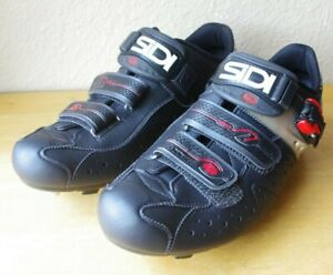 Sidi Dominator Cyclocross Shoes, 42.5 M, Black/Red/White