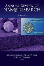 Annual Review of Nano Research Vol. 3 by Guozhong Cao (2009, Hardcover)