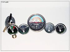 IH Farmall 340 Tractor Gas/Dsl (Tachometer +Temp+Oil Pressure +Amp+ Fuel Gauge)