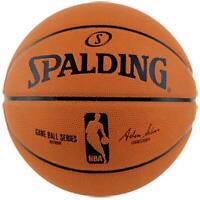 NBA Rubber Game Ball Replica Basketball Size 6 Outdoor Ball From Spalding