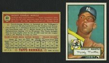 Mickey Mantle Rookie Baseball Cards For Sale Ebay