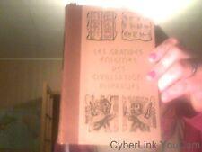 Les grandes enigmes des civilisations disparues tome 2de Ulrich Paul