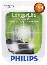 Side Marker Light Bulb-LongerLife - Twin Blister Pack Philips 194LLB2
