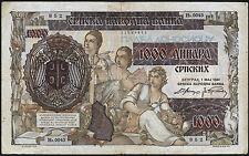 Ro.602 1000 Dinara 1941 - Besetzung Serbien 1941 (3)