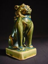 Antique Fu Foo Dog Shishi Lion Oribe Talisman Figurine