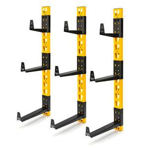Dewalt 9 Bracket Wall Mount Material Storage Cantilever Rack DXSTACLR