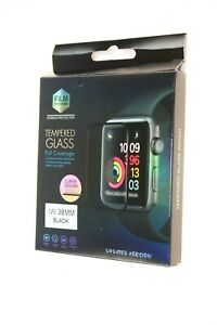 I WATCH 38MM BLACK IW 38MM TEMPERED GLASS SCREEN PROTECTOR QUALITY ITEM