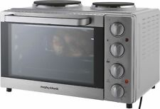 Morphy Richards KWS1128HQ-F2UC 28L Convection Mini Oven Silver 1000W