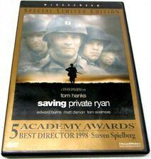 Euc Saving Private Ryan 1998 Dvd Special Limited Edition Tom Hanks 667068443325