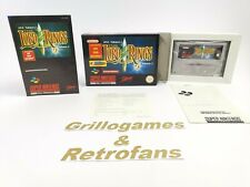 """Super Nintendo Spiel """" The Lord of The Rings Volume 1 """" Snes   Ovp   Pal   CIB"""