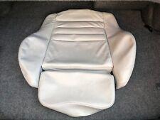 original BMW E36 M3 Coupe Sitze Bezug Gesäß Leder Silbergrau hell 2260640
