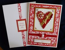 Christmas Card Wife/Husband/Girlfriend/Etc Large Boxed Personalised Handmade