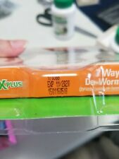 SENTRY Worm X Plus 7 Way DeWormer Large Dogs  2 count