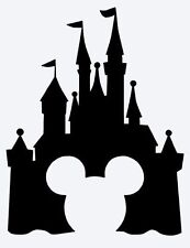 disney castle vinyl wall sticker