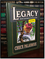 Legacy ✎SIGNED✎ by CHUCK PALAHNIUK Brand New Hardback 1st Edition First Printing
