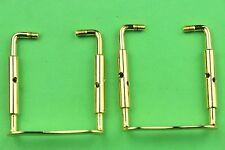 30 pcs Violin Chin rest Clamp Screw Golden Color 4/4, Violin Parts accessories