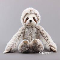 20'' Wild Animal Sloth Teddy Plush Toy Cuddly Stuffed Animal Bear Doll 50cm Big