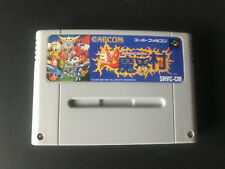 Chou Makaimura Ghouls & Ghosts Super Nintendo SFC Super Famicom