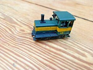 """Diesel Locomotive HOe OO9 Gauge, tested, 'Plymouth"""" 0-4-0"""