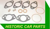 """GASKET PACK for TWIN SU 1½"""" H4 Carbs on MG TD Mk2 & TF Midget 1250 1950-55"""
