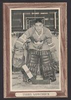 1964-67 Beehive Group III Toronto Maple Leafs Photos #181 Terry Sawchuk