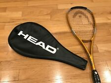 NEW Head Squash Racquet (Liquid Metal 140) with Racquet Cover (Both Never Used)