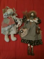 Two Rag Dolls