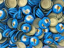 100 ((Pints for Prostates)) [Uncrimped] Beer bottle Caps - Free Fast S & H