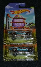 2014 HOT WHEELS EASTER '70 CHEVY CHEVELLE CONVERTIBLE 2/8 SET OF TWO