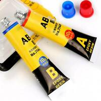 2 Parts  Epoxy Glue Clear Strong Adhesive For Resin Plastic Ceramic Glass Metal