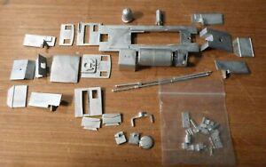 'Tasmanian Garratt' 0-4-0 + 0-4-0  OO9 / 4mm scale cast metal loco body kit