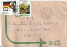 Senegal  Air Mail cover to Finland