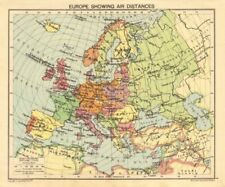 Buy Antique Europe Atlas 1940-1949 Date Range | eBay