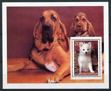 Turkmenistan MNH Dogs 1v M/S Pets Domestic Animals Dog Stamps