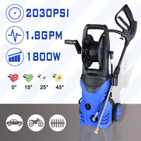 2030PSI 1.8GPM Electric Pressure Washer Water Cleaner Power Sprayer Kit