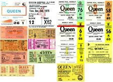 QUEEN 👑 MUSIC GROUP ARTIST 🎸 Reproduction CONCERT TICKETS 🎟️ Individual Sale