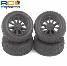 Associated SC28 Wheels and Tires Mounted ASC21426